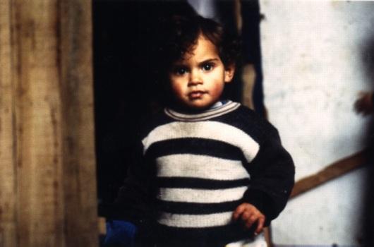 ילד פלסטיני, ירושלים המזרחית, ינואר 2000