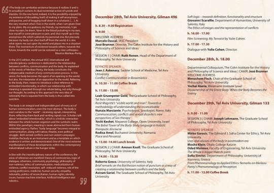 agenda A4 IASC conference 2015d #2