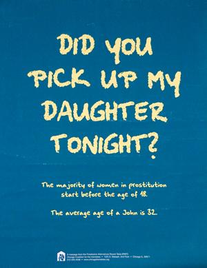 כרזה מקמפיין בעיר שיקאגו