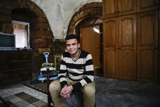 חאלד מחמוד סלבי. צילום: מגד גוזני